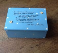 Shabby Personalised Chic Jewellery Box Bridesmaid / Sister In Law To Be Gift..